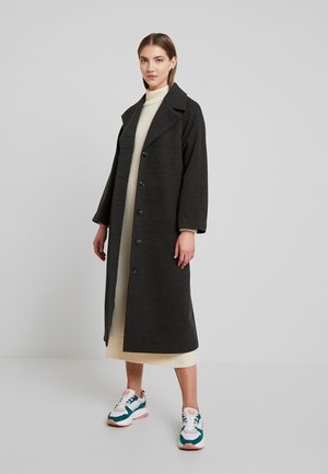 YASDIANE LONG - Classic coat - medium grey melange