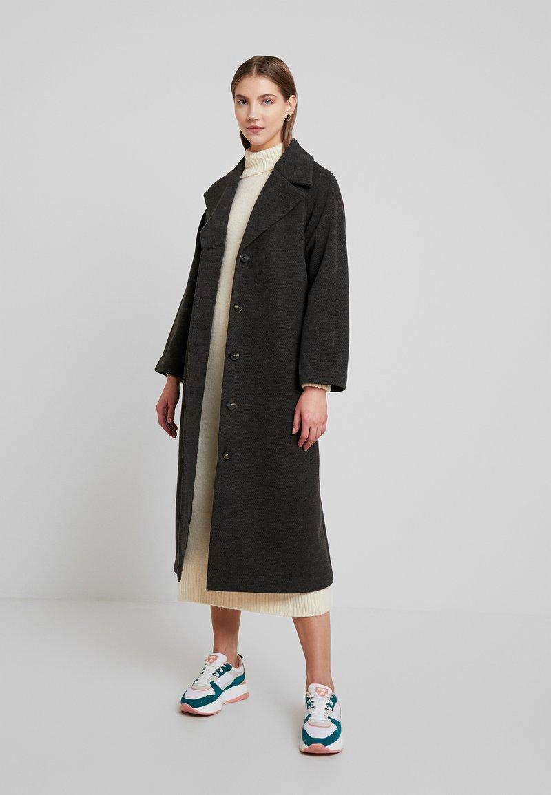 YAS - YASDIANE LONG - Manteau classique - medium grey melange