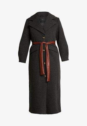 YASHEIKE LONG COAT - Zimní kabát - medium grey melange