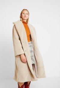 YAS - YASPAULA COAT - Winter coat - almondine - 0