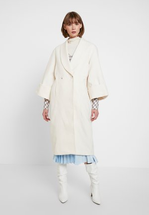 YASVERONIKA COAT - Kappa / rock - white swan