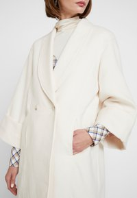 YAS - YASVERONIKA COAT - Classic coat - white swan - 5