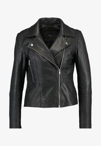 YAS - YASSOPHIE JACKET - Leren jas - black - 3