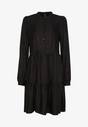 YASLAMALA DRESS - Shirt dress - black
