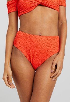 YASAZUL BRIEF - Bikini bottoms - cherry tomato
