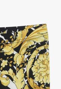 Versace - PANTALONE LUNGO JUNIOR - Leggings - nero/oro - 3