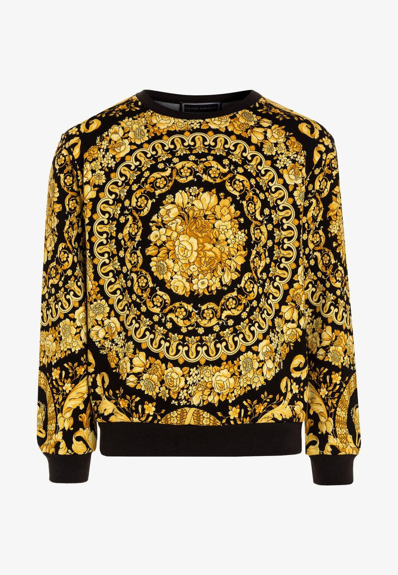 Versace - FELPA - Sweatshirts - nero/oro