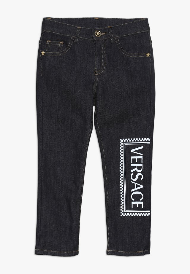 PANTALONEJUNIOR BOY  - Straight leg jeans - blu