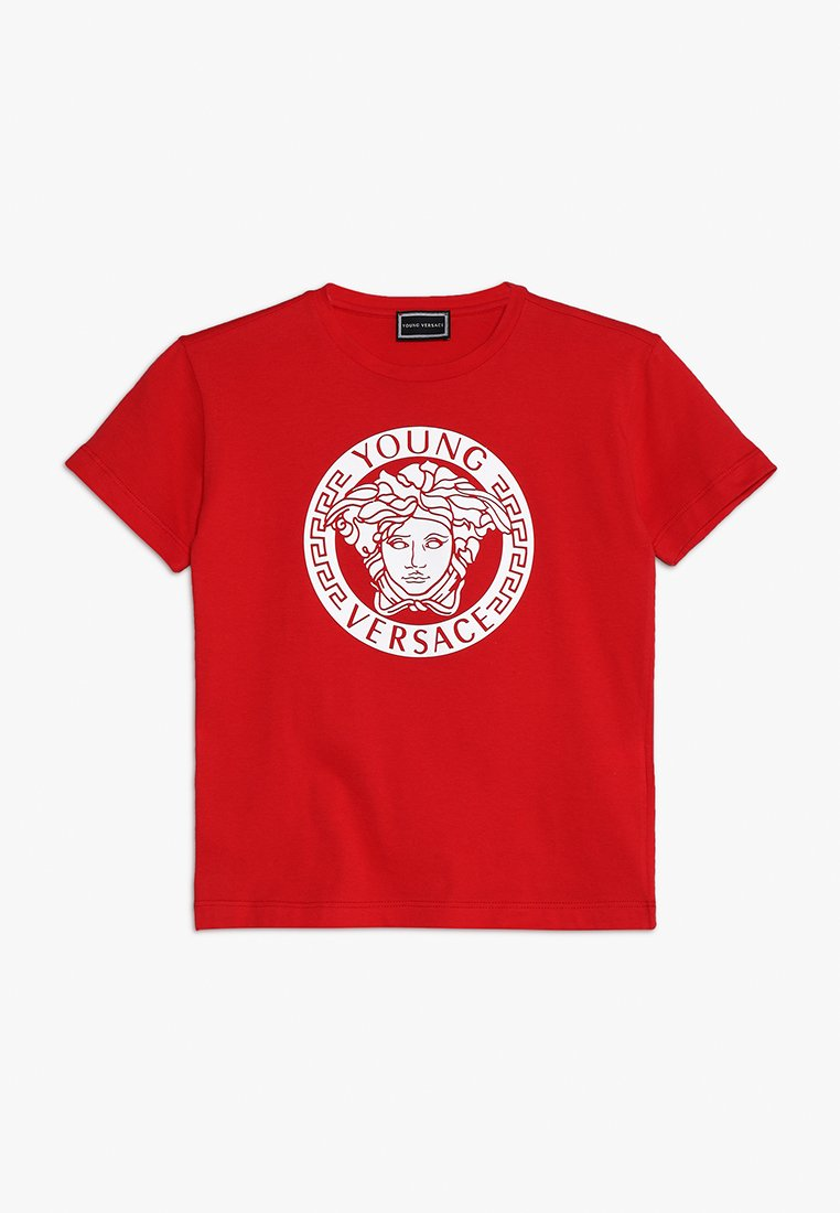 Versace - T-shirt imprimé - rosso