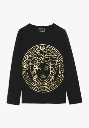 JUNIOR BOY  - T-shirt à manches longues - nero/oro