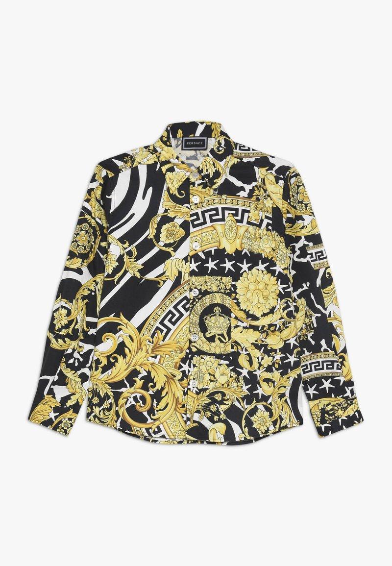Versace - CAMICIA MANICA JUNIOR - Camicia - nero/oro