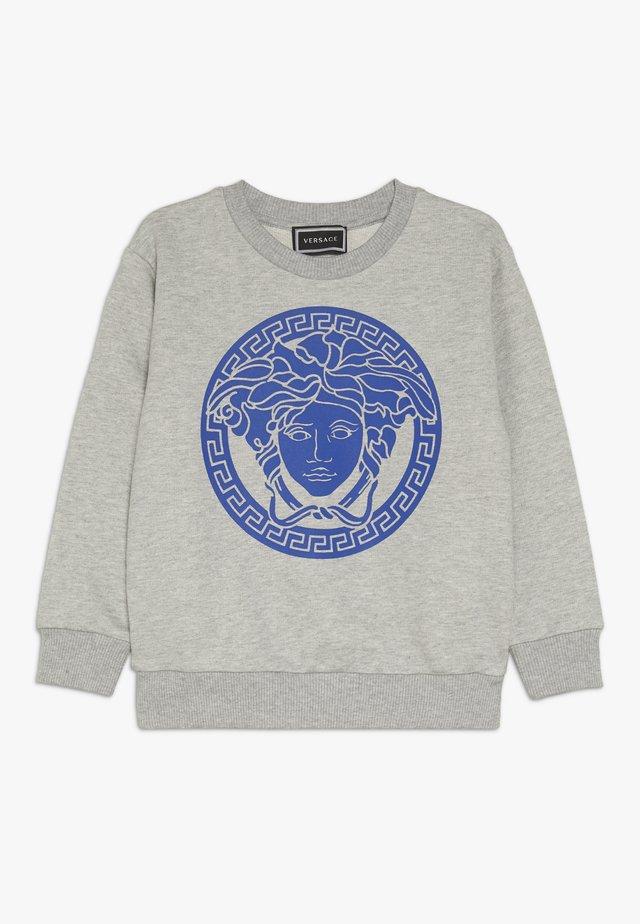 FELPA MANICA LUNGA JUNIOR - Sweater - grigio/blu