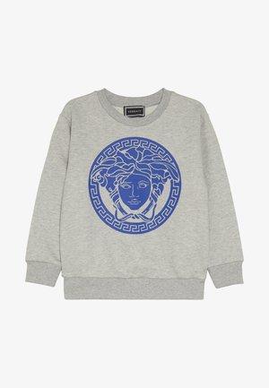 FELPA MANICA LUNGA JUNIOR - Sweatshirt - grigio/blu