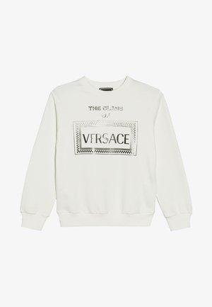 TOP FELPA REGULAR JUNIOR - Sweatshirt - bianco/nero