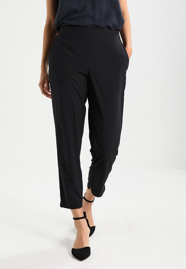 CHARLIE - Trousers - black