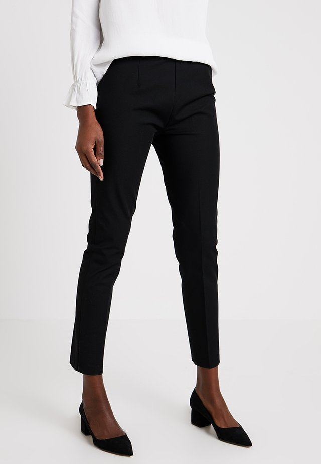 CHARELL - Trousers - black