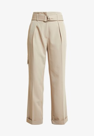 CHARA - Trousers - natural sand