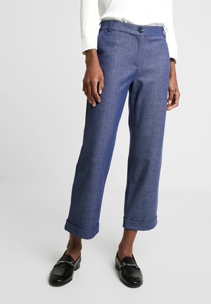 CONNER  - Spodnie materiałowe - blue