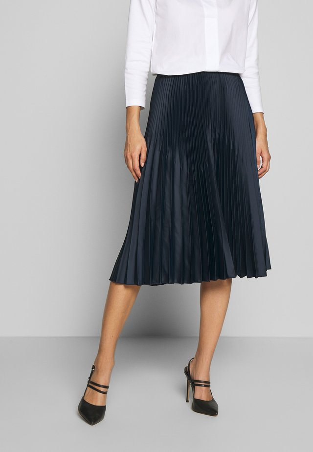 ONERA - A-line skirt - smart blue