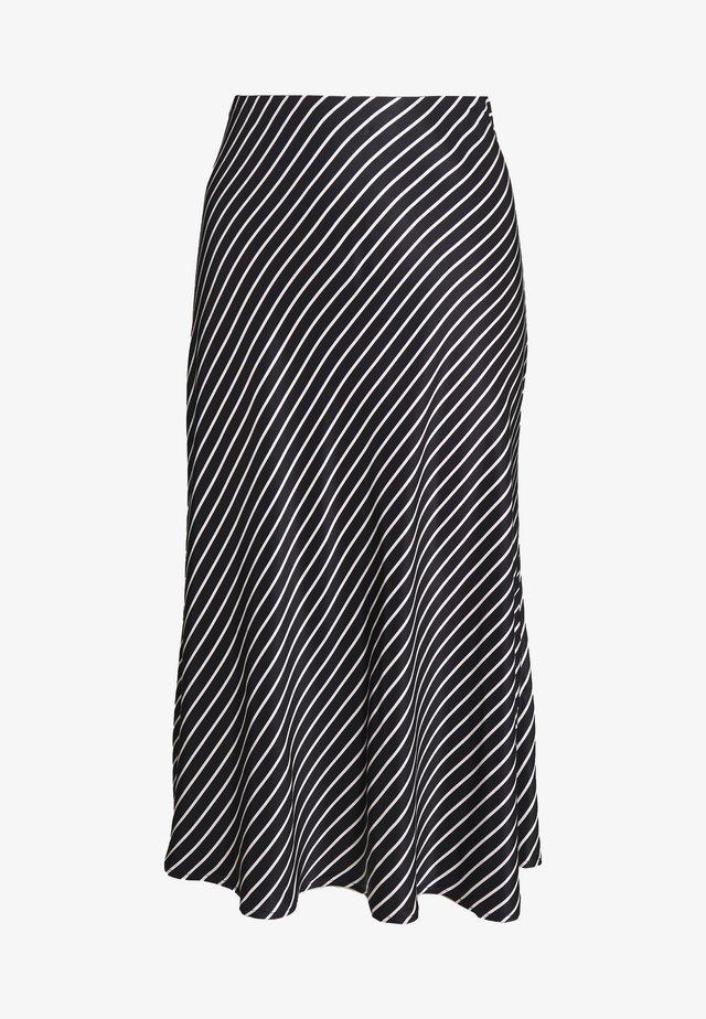 ODILE - A-line skirt - black