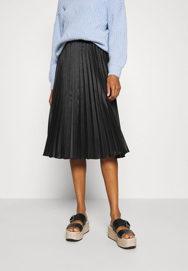 OLAI - Pleated skirt - black
