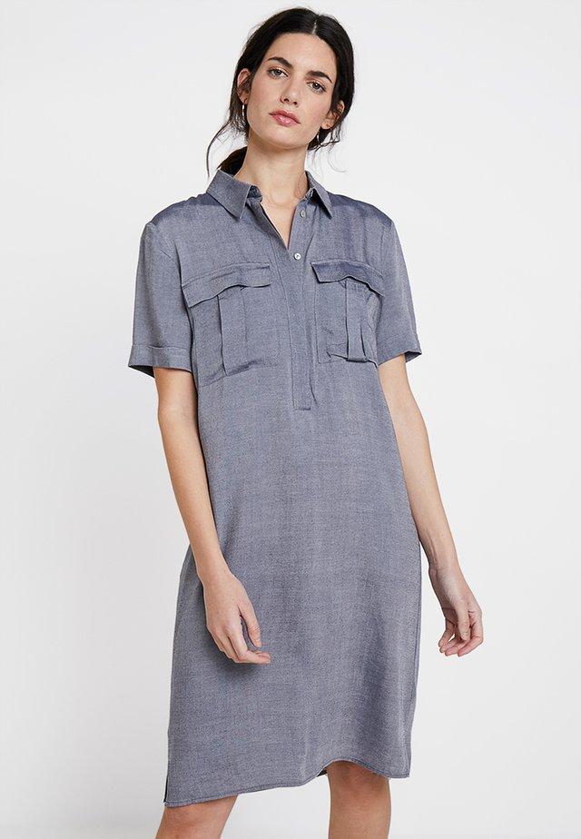 QUINTON - Shirt dress - dark night