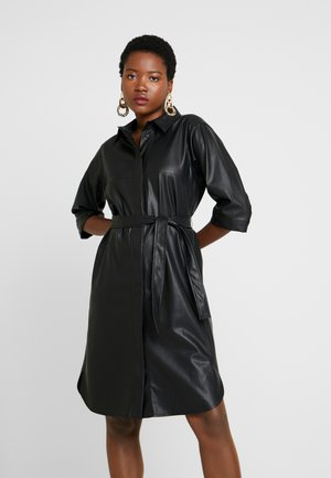 QUELINA - Shirt dress - black