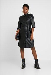 someday. - QUELINA - Shirt dress - black - 1