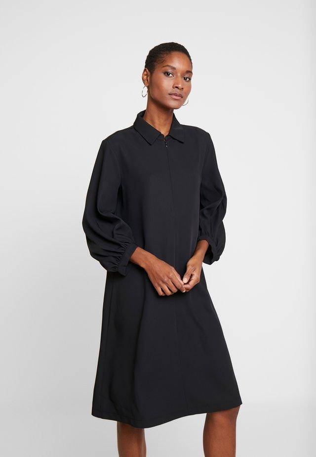 QEDRIK - Shirt dress - black