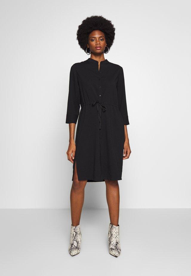 QARINA - Shirt dress - black