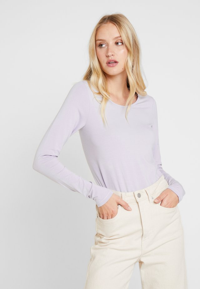 KALIA - Langarmshirt - grey/lavender