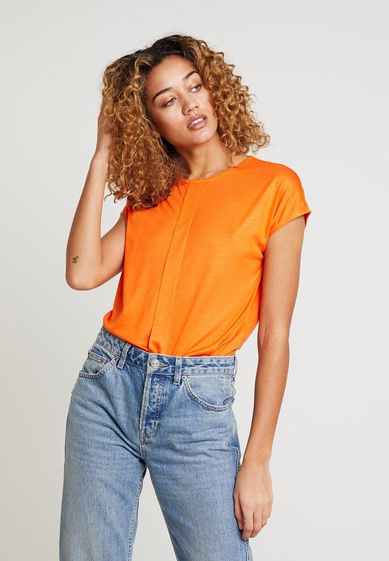 someday. - KUSANA - Basic T-shirt - papaya
