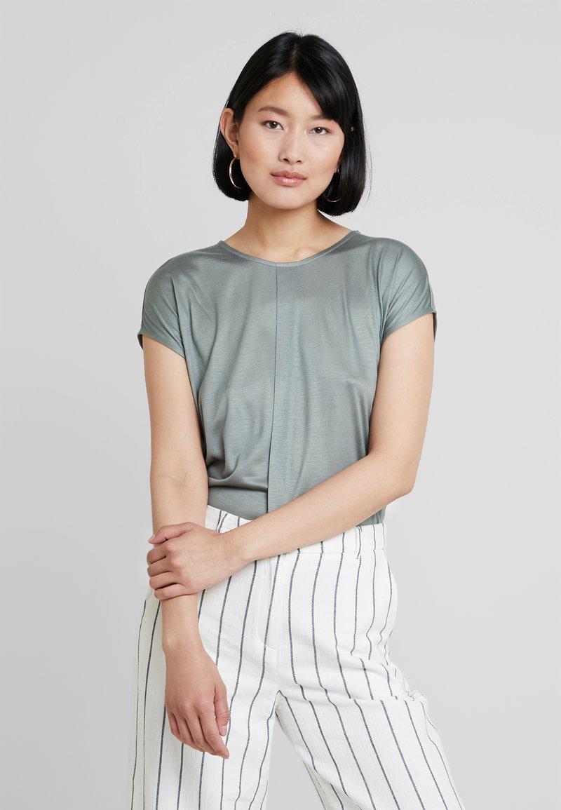 someday. - KUSANA - Basic T-shirt - grey green