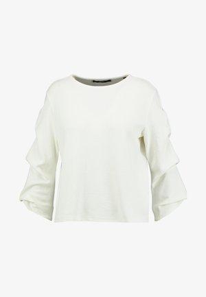 KASONDA SOLID - Langærmede T-shirts - milk
