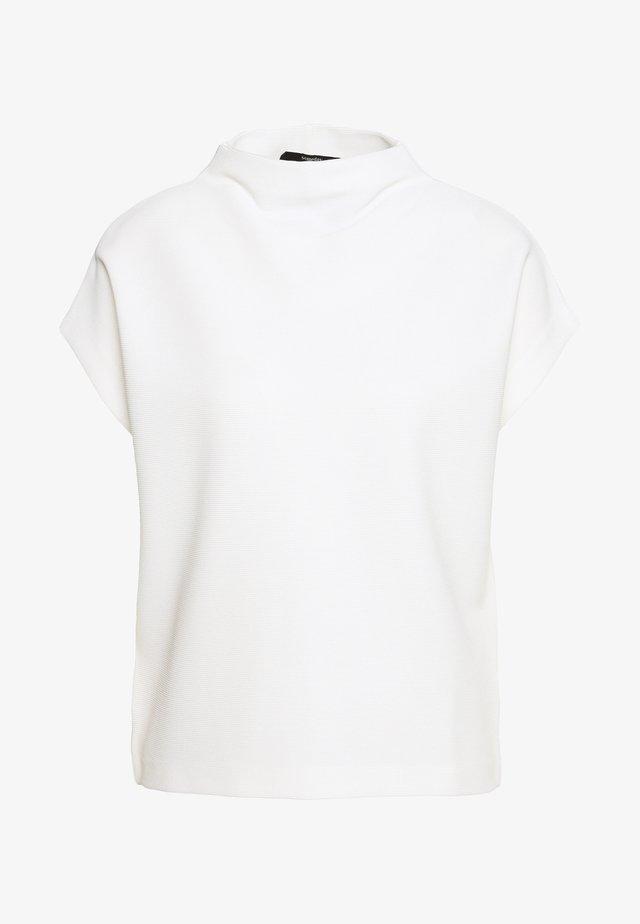 KITTUA TEXTURE - Basic T-shirt - milk