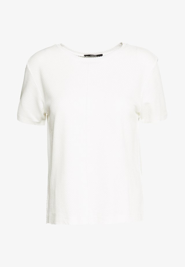 KLIEN TEXTURE - Print T-shirt - milk