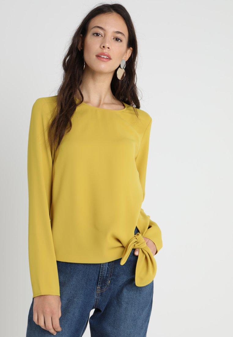 someday. - ZEDNA - Blouse - mute mustard