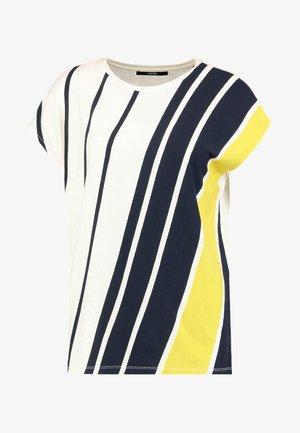 KINLEA - T-shirt z nadrukiem - mute mustard
