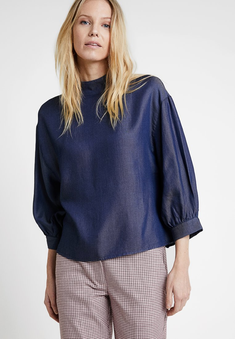 someday. - ZACCAI - Blouse - blue mag