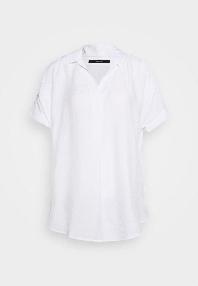 ZANARI - Bluse - white