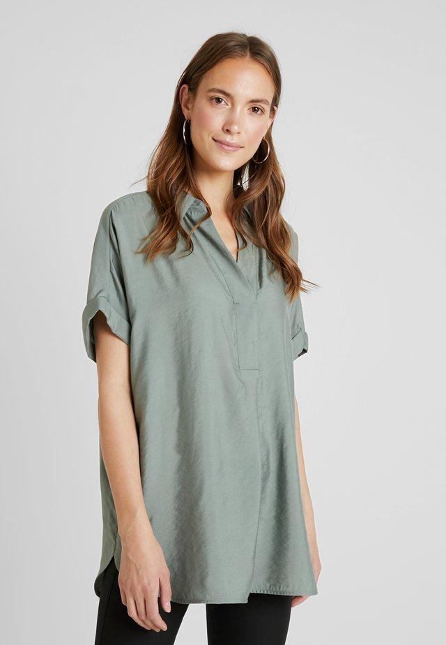 ZANARI - Bluse - grey green