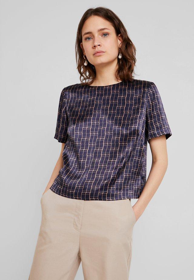 ZEBIL - T-shirt con stampa - bold blue