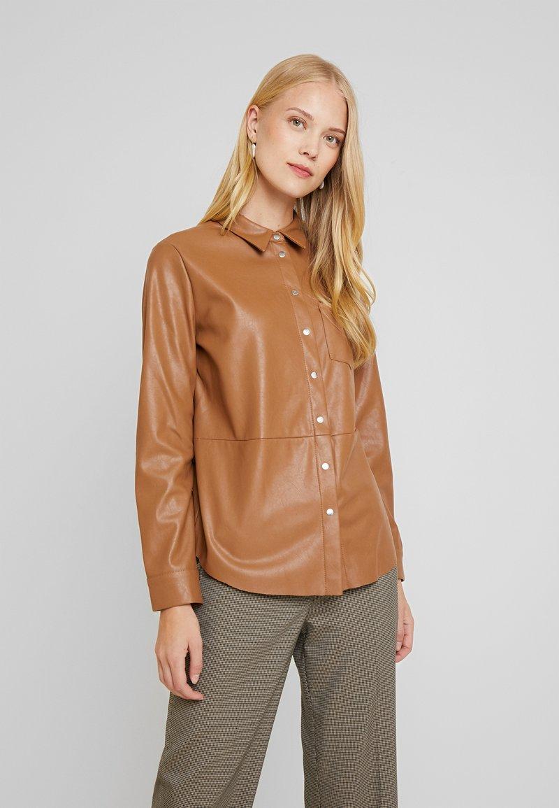 someday. - ZUNKA - Button-down blouse - golden caramel