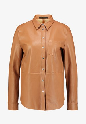 ZUNKA - Button-down blouse - golden caramel