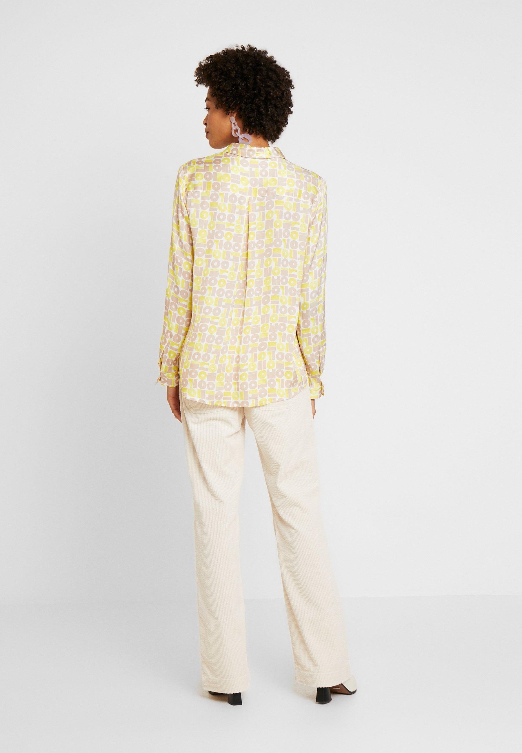 someday. ZAMERU - Button-down blouse - natural sand