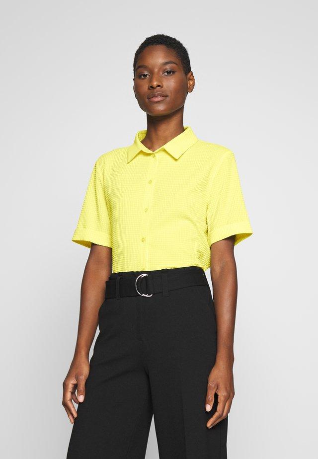 ZIMONE - Button-down blouse - lime