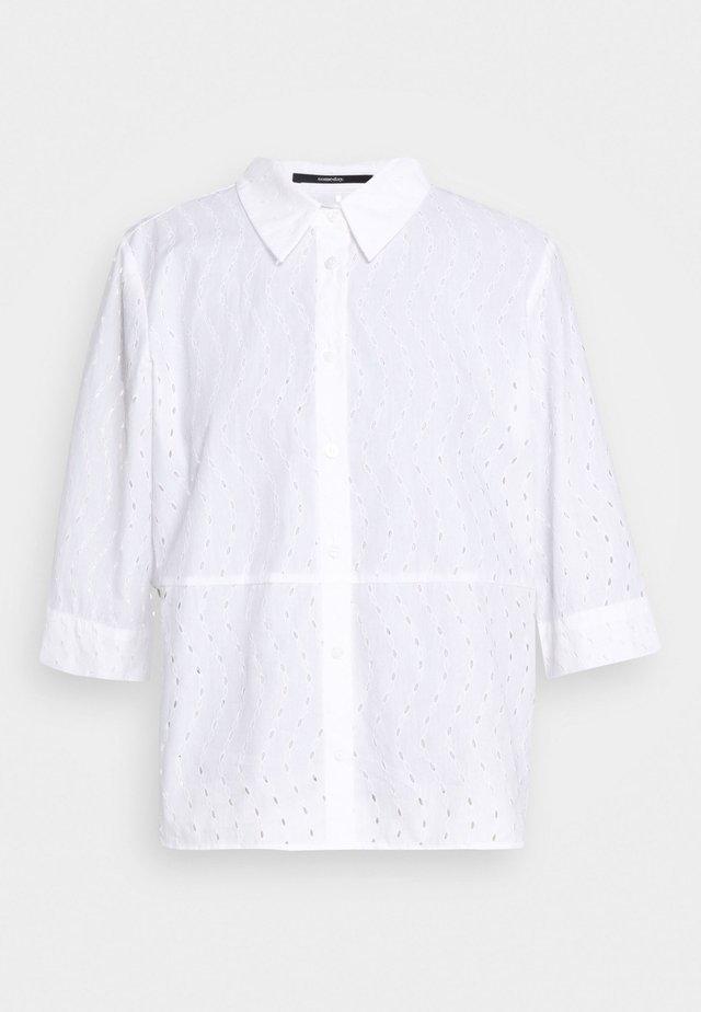 ZABELKE - Hemdbluse - white
