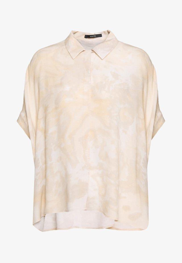 ZAHAI - Button-down blouse - mellow cream