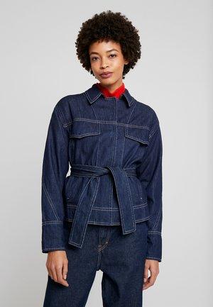 NALINA - Džínová bunda - real denim