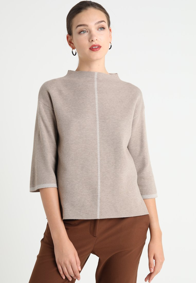 someday. - TIZIA - Strikpullover /Striktrøjer - tender almond